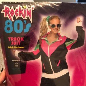 Women's 80's track suit costume
